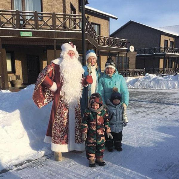 загородный отдых с детьми в новогодние каникулы