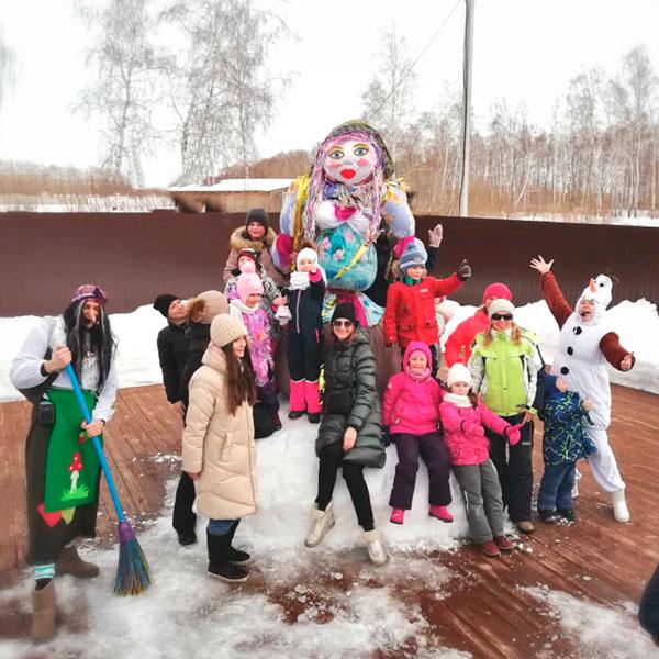 В Линкер Парк 1 марта 2020 года прошла Масленица, вместе с гостями проводили зиму и встретили весну, фото 1