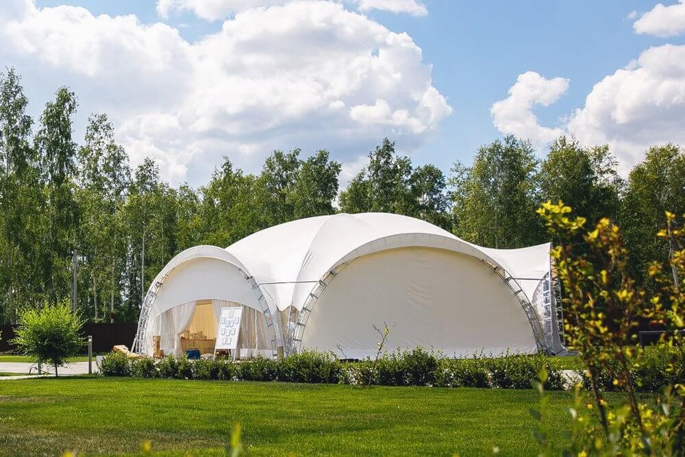 Свадьба в арочном шатре на территории Apart Hotel Линкер Парк, фото 1