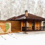 Сауны на территории Apart Hotel Линкер Парк в зимнее время в фотогалерее на сайте, фото 10