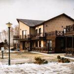 Территория Apart Hotel Линкер Парк в зимнее время в фотогалерее на сайте, фото 2