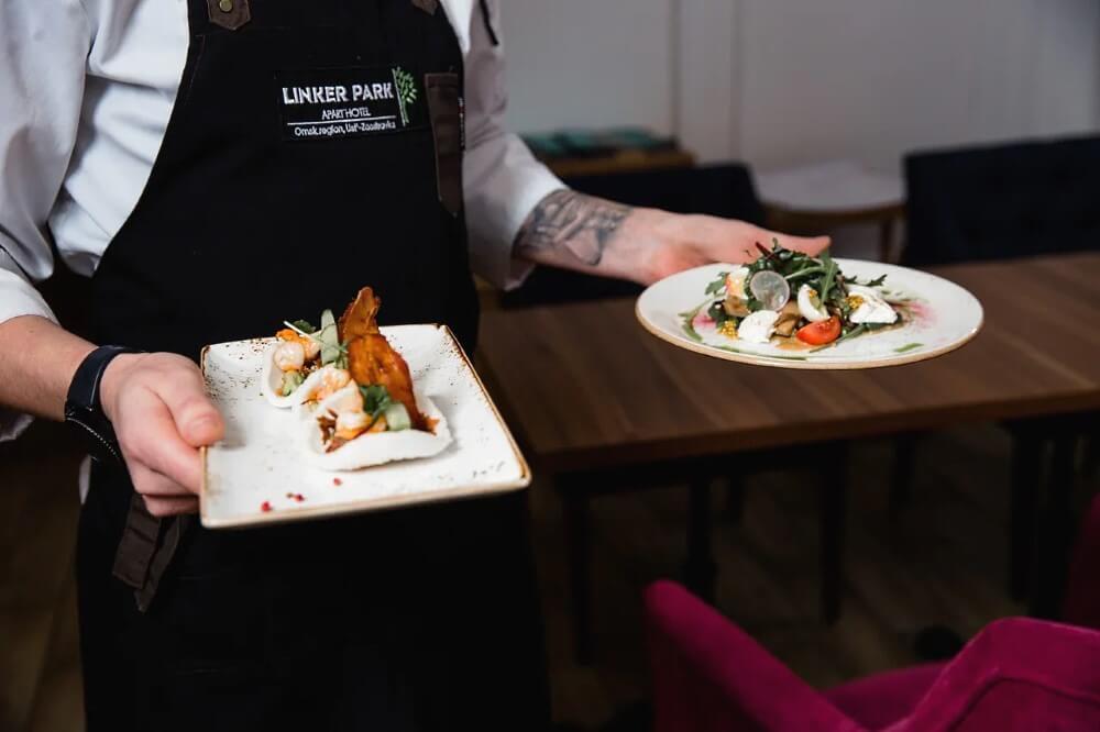 Блюда от шеф-повара ресторана Apart Hotel «Линкер Парк» Андрея Любицкого, фото 1