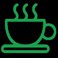 Чайные станции и кофемашины дополняют приятный комфорт для проживающих