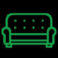 Номер полулюкс в Apart Hotel «Линкер Парк» оборудован раскладным диваном