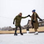Катание на коньках – большой каток в Линкер Парк пользуется большой популярностью у гостей в зимнее время, фото 11