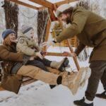 В Линкер Парк созданы условия для семейного отдыха, в том числе с маленькими детьми в зимнее время, фото 13