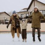 Для семейного отдыха зимой в Линкер Парк имеются качели, горка, каток и другие развлечения, фото 19