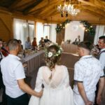 Свадьба Антона и Лены в Apart Hotel «Линкер Парк», развлекательная программа в галерее WOOD, фото 16