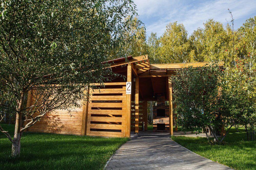 Линкер Парк предлагает аренду мангальной зоны в Омске на 20 человек для отдыха за городом