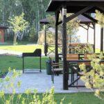 Заказать мангальную зону на 8 человек за городом для отдыха на природе можно на сайте Линкер Парк