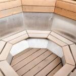 Уникальное предложение для гостей – банный чан на свежем воздухе в саунах «Линкер Парк», фото 19