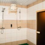 Оригинальная душевая комната для гостей, отдыхающих в сауне «Линкер Парк», фото 20