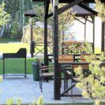 В Линкер Парк оборудованы две площадки для шашлыка – мангальные зоны на 8 человек, бронирование на сайте