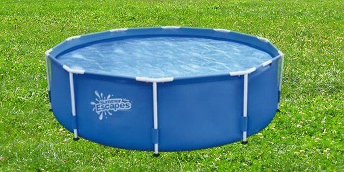 В летнюю жару гостям будет приятно поплескаться в бассейне, установленном на территории Линкер Парк