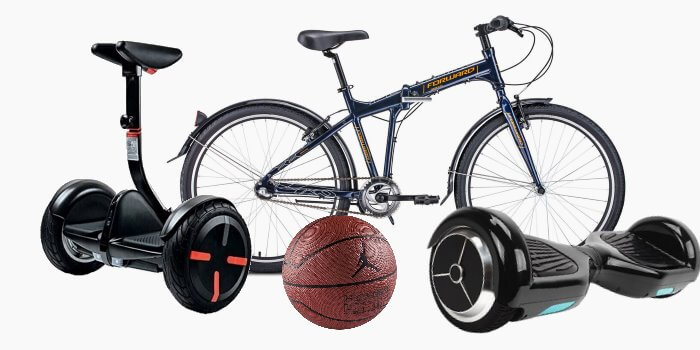 Услуги проката спортивного инвентаря в Линкер Парк включают предоставление сигвея, гироскутера, велосипеда и мяча для игры