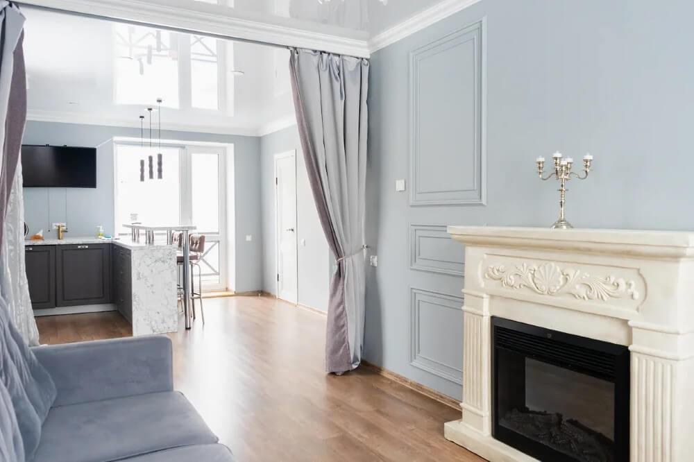 Номер полулюкс в Apart Hotel «Линкер Парк», интерьер, мебель и оборудование, фото 2