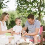 Семейный отдых летом в Линкер Парк – приятное совместное чаепитие в тишине на свежем воздухе, фото 3