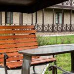 Территория Apart Hotel Линкер Парк в летнее время, места отдыха на улице в фотогалерее на сайте, фото 34