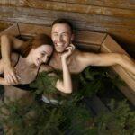 Уникальное предложение для гостей – банный чан на свежем воздухе в саунах «Линкер Парк», фото 28