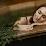 Уникальное предложение для гостей – банный чан на свежем воздухе в саунах «Линкер Парк», фото 29